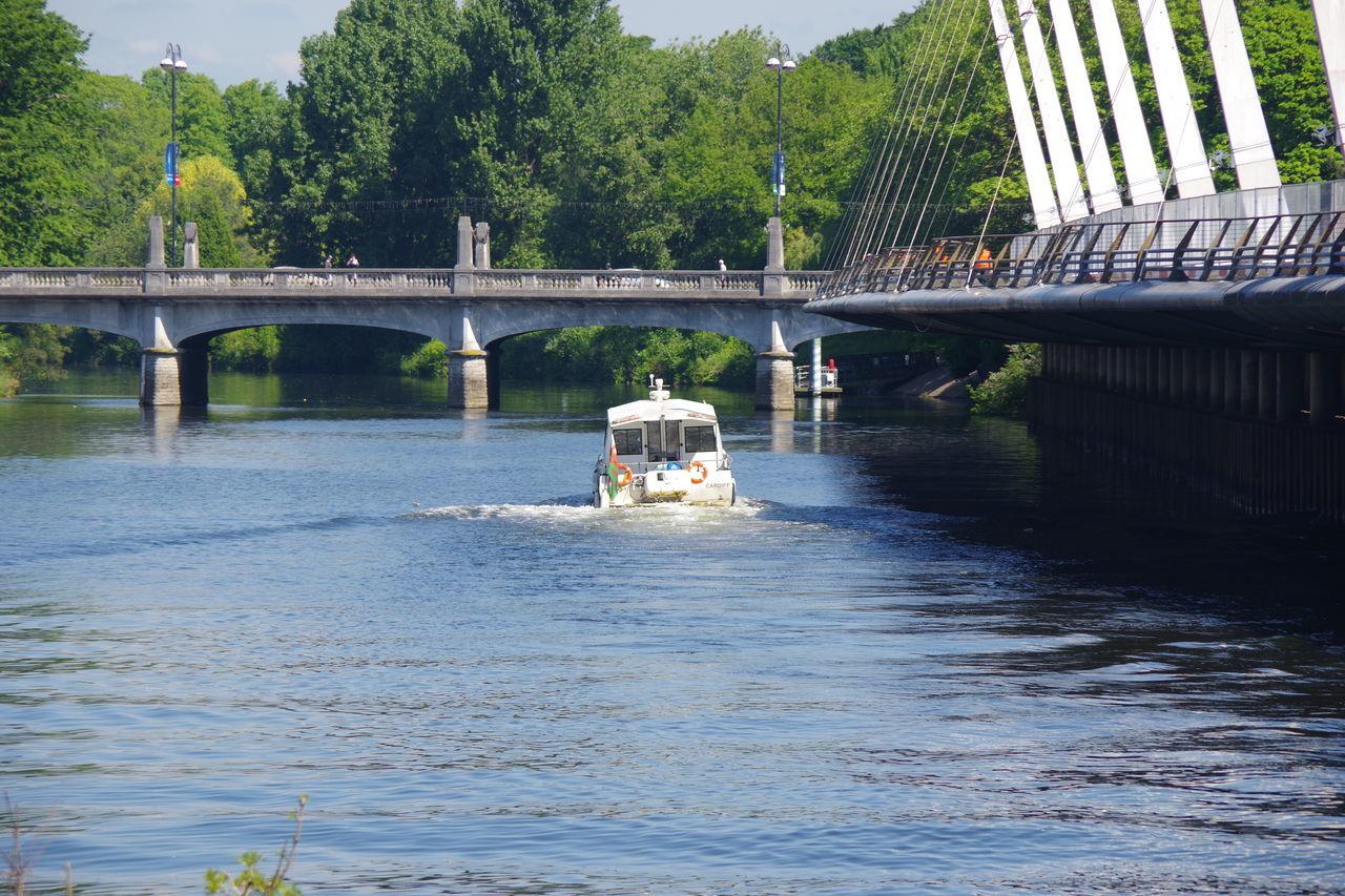 Water Bridge - Man Made Structure Taff Trail River Taff Cymru-photography Transportation Outdoors Cardiff Wales Boat Tourism Visit Wales Tourist Spot Tourist Boat Trip