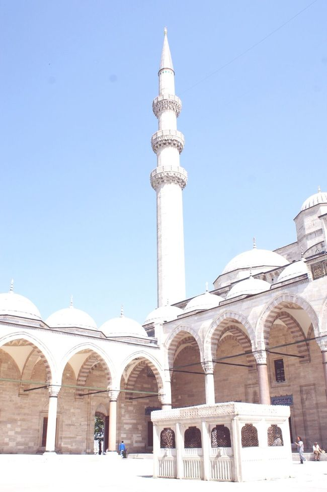 Miss the time! Taking Photos Istanbul International Mosque White Sky Achitecture