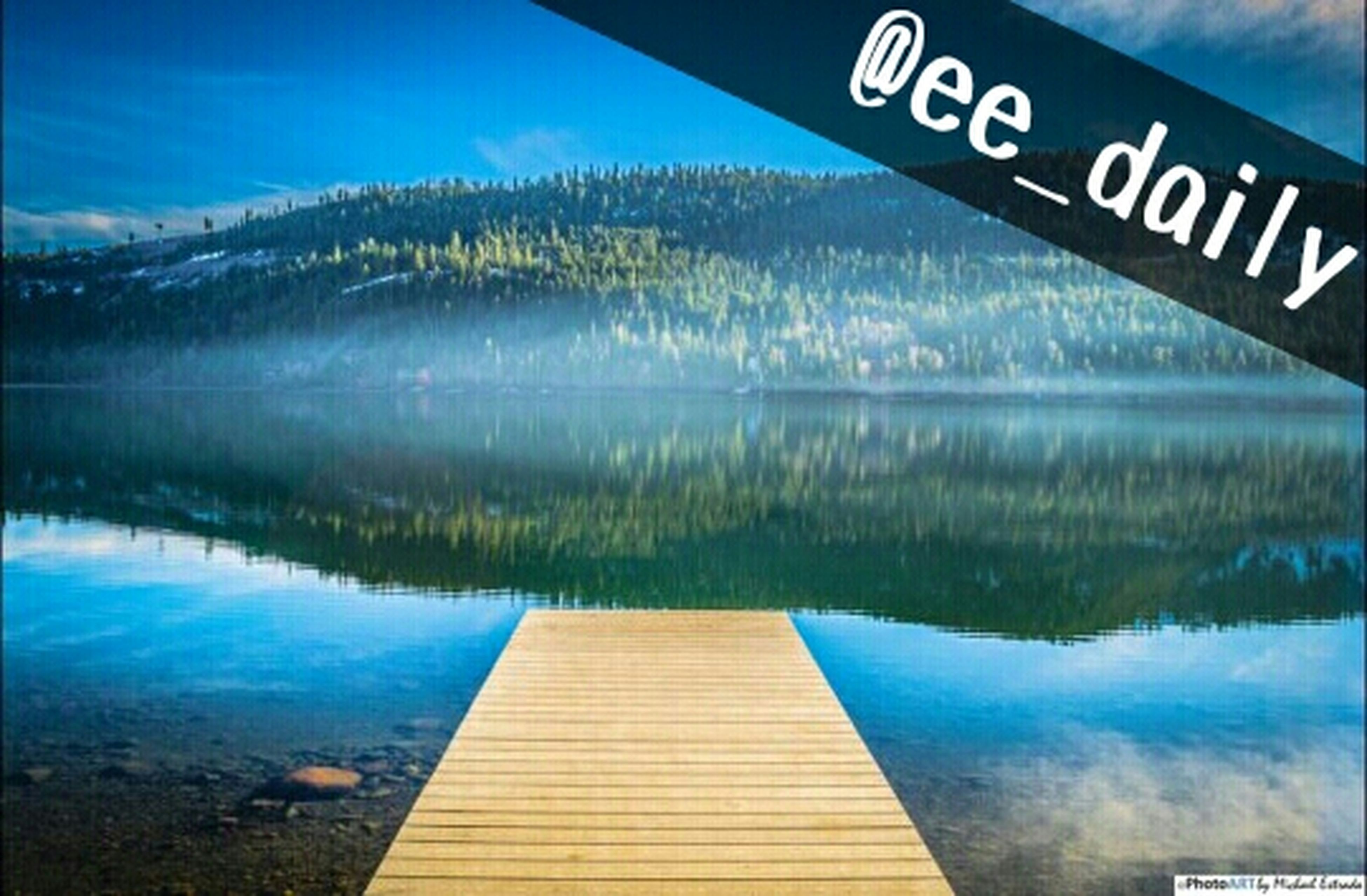 Does any else feel like they are standing at this dock & enjoying the view of of the beautiful green trees straight with the soft blues surrounding you? I sure do! Congrats to EyeEmer, @photoARTbyME (Michael) and thank you for adding your photos to the al Nature Great View Mountains Landscape Lake Nikon Hello World Captured Moment Daily Naturehippys Nature_collection Ee_daily Daily Features Reflection