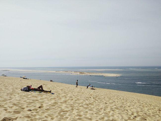 Beach Plage Arcachon Dune Du Pyla Sable Sand Ocean Sea Mer Atlantique