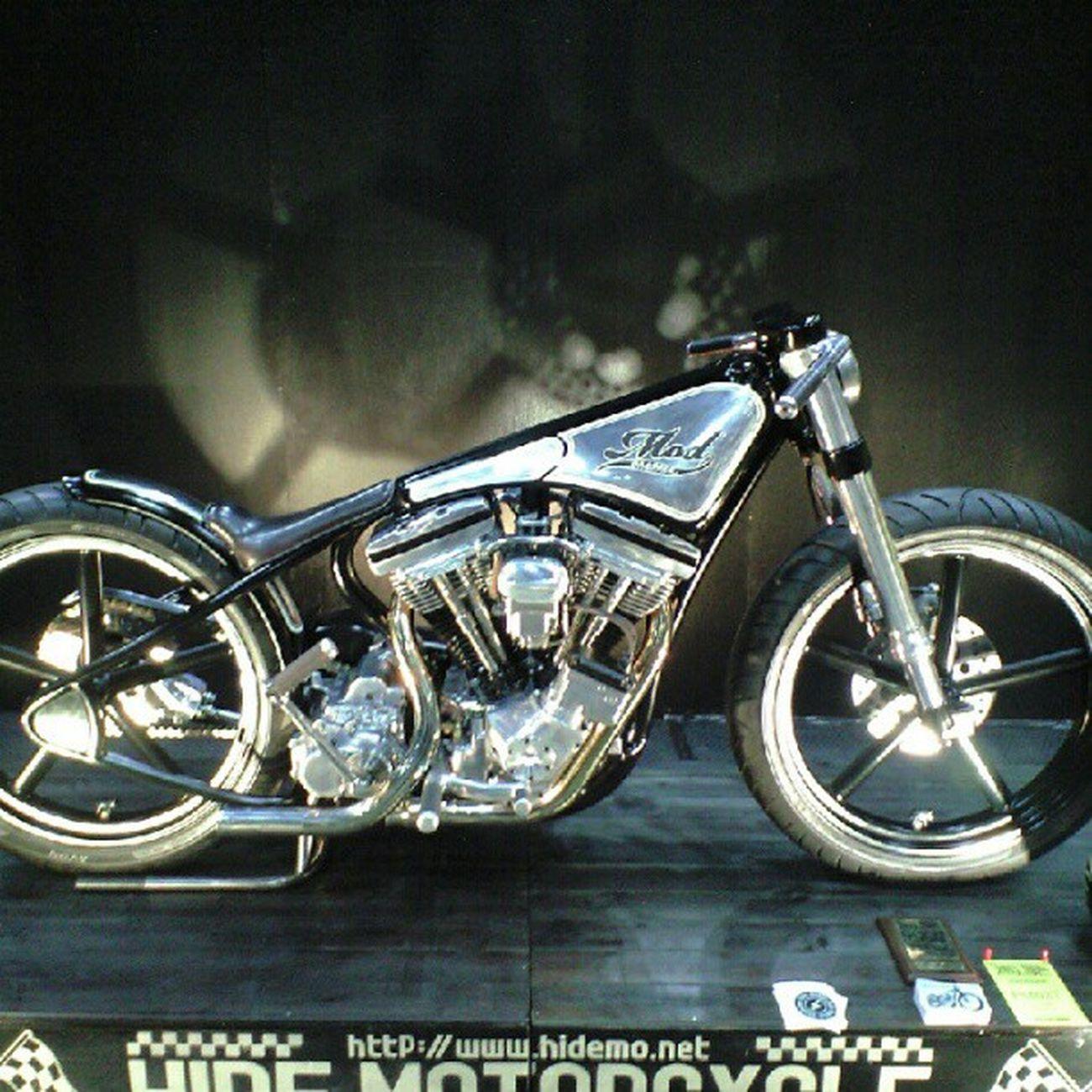 YokohamaHodrodCustomShow Hidemotorcycle  Modchoppr