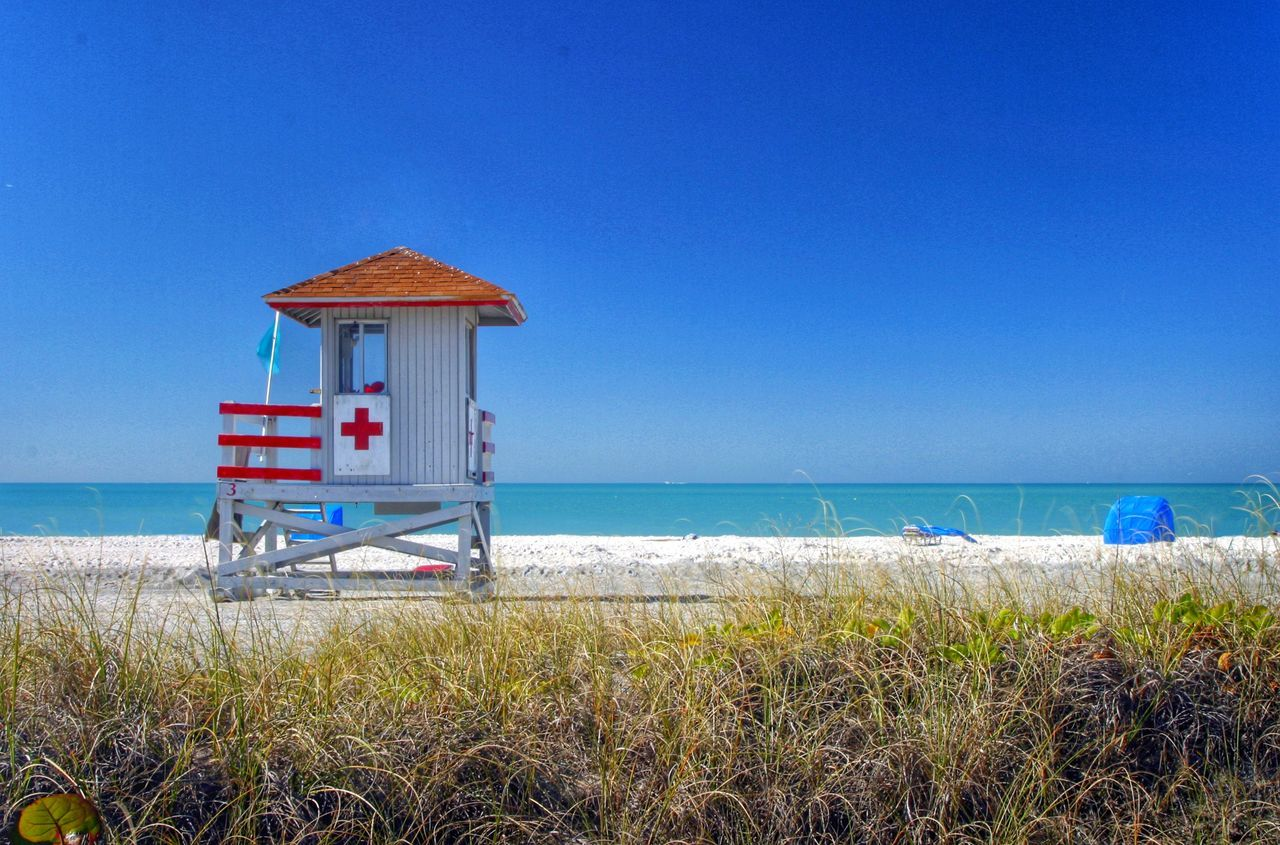 Lifeguard Station Lifeguard Tower Lido Key Lido Beach Sarasota Sarasota Florida Florida Beach Beach Photography Beach Life