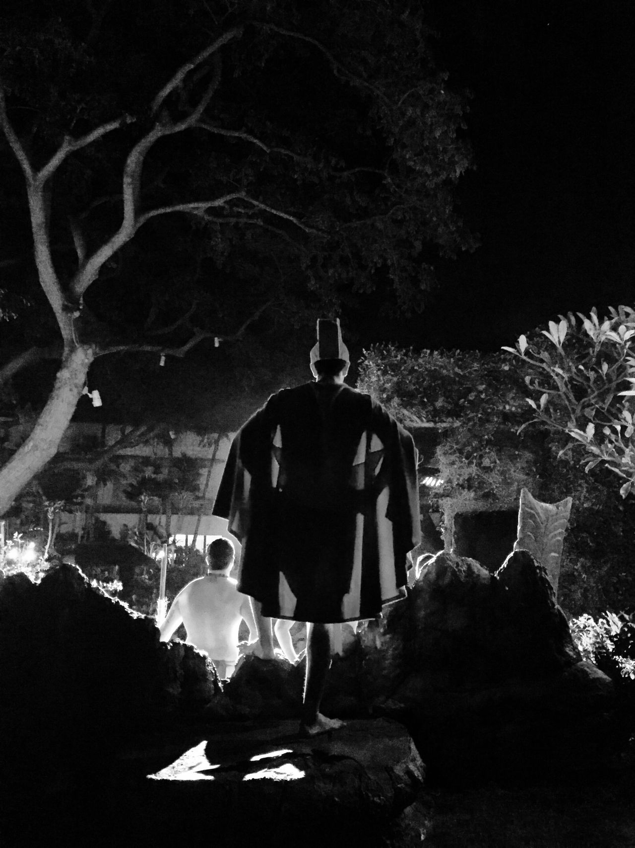 Warrior Stance ? Holiday Hawaii Enjoying Life Blackandwhite Light And Shadow Hanging Out Adventure Awesome Dinner Traveling