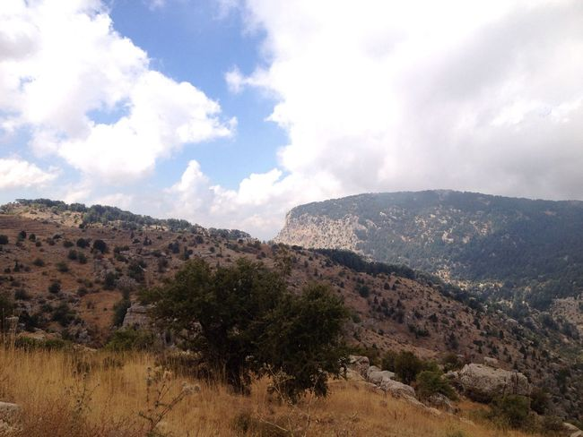 Mountains Mountains And Sky Lebanon East Mediterranean