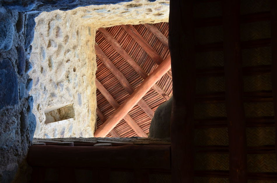Architecture Built Structure Day Fort Fujairah Historical Building History Looking Up Low Angle View Man Made Structure No People Stone Travel UAE United Arab Emirates
