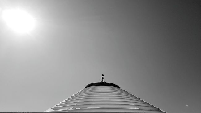 Clear Sky Sun Sunlight Vacations Summer Fine Art Abstractions Particulars Detail Sky Black And White Black & White Ship Ship Details Tranportation