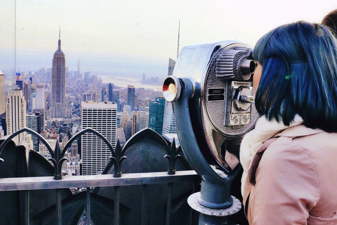 Beautiful stock photos of new york, Architecture, Binoculars, Building Exterior, Built Structure