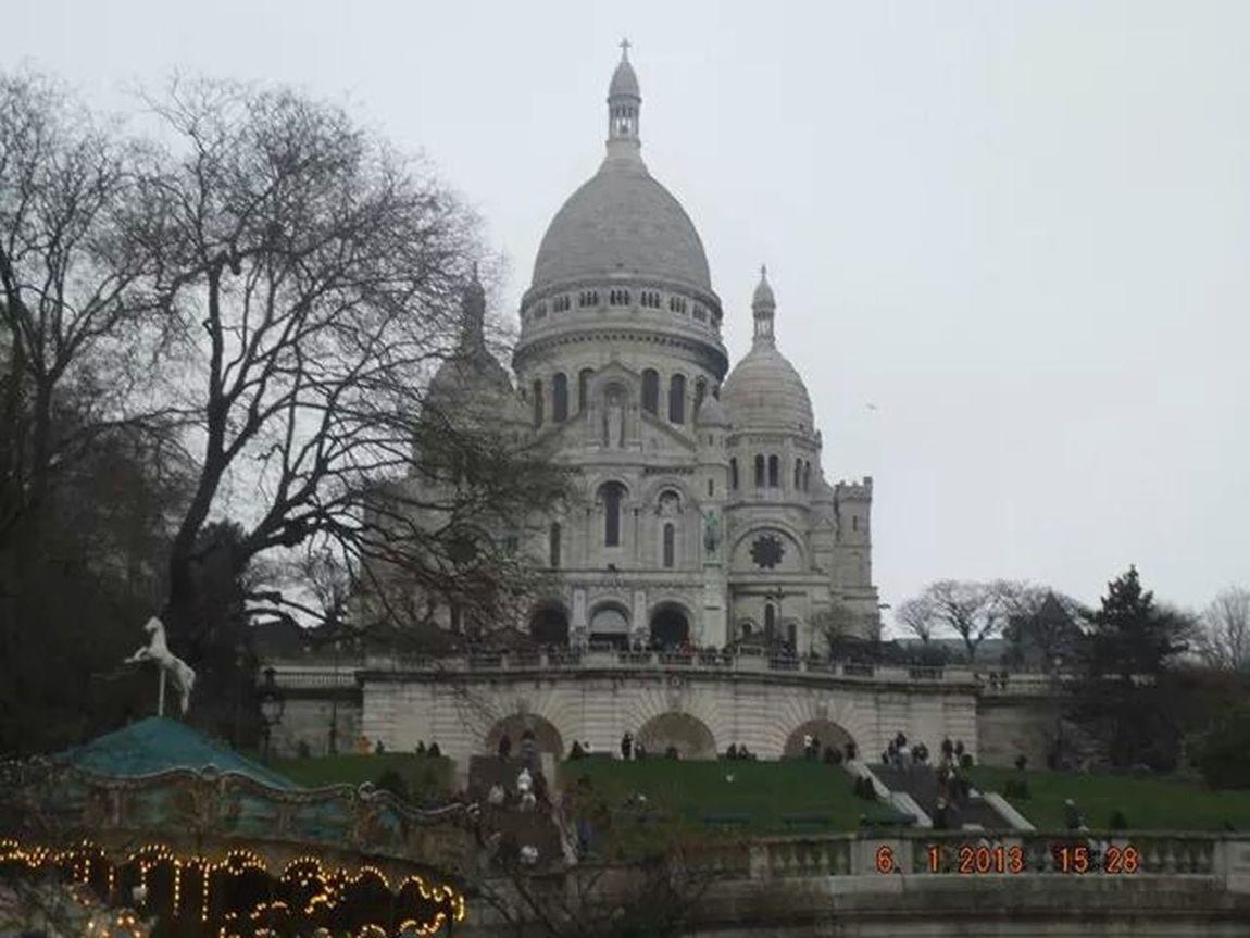 Sacre Coeur Paris ❤ Jenuary