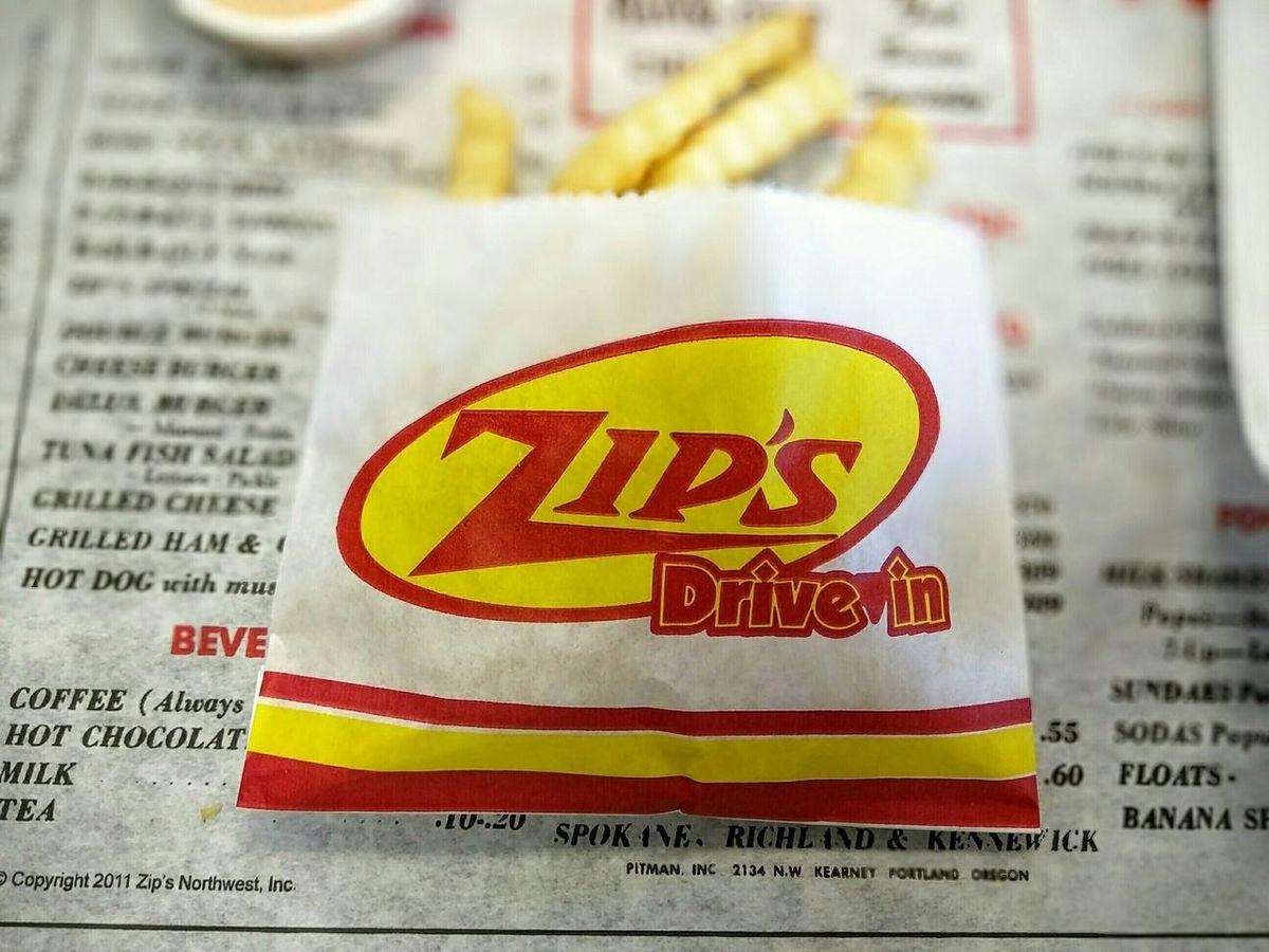 Pit stop at Zips! Zips Idaho