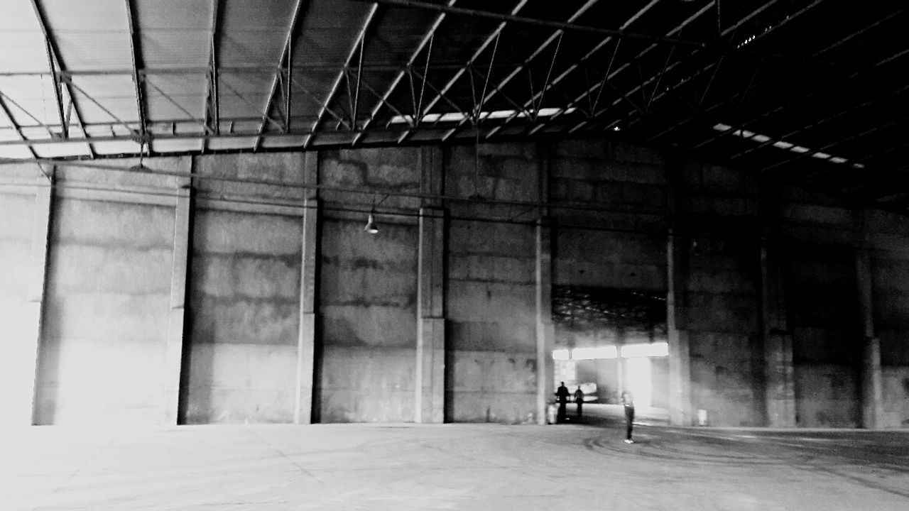 Warehouse Architecture Reflection Black And White Photography Monochrome Photography