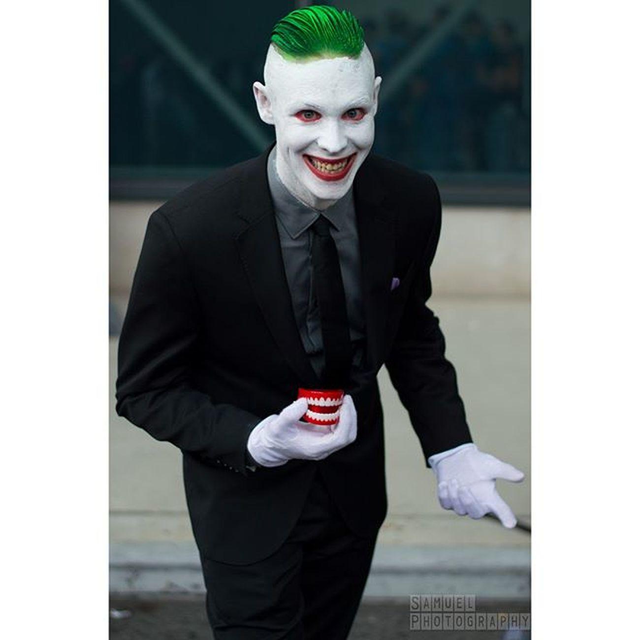 Joker Jokercosplay DC Dccosplay Hahaha Cosplayphotogtraphy Cosplay Newyorkphotography NYCC NYCC2015 Nycc15 Comiccon Newyorkcomiccon