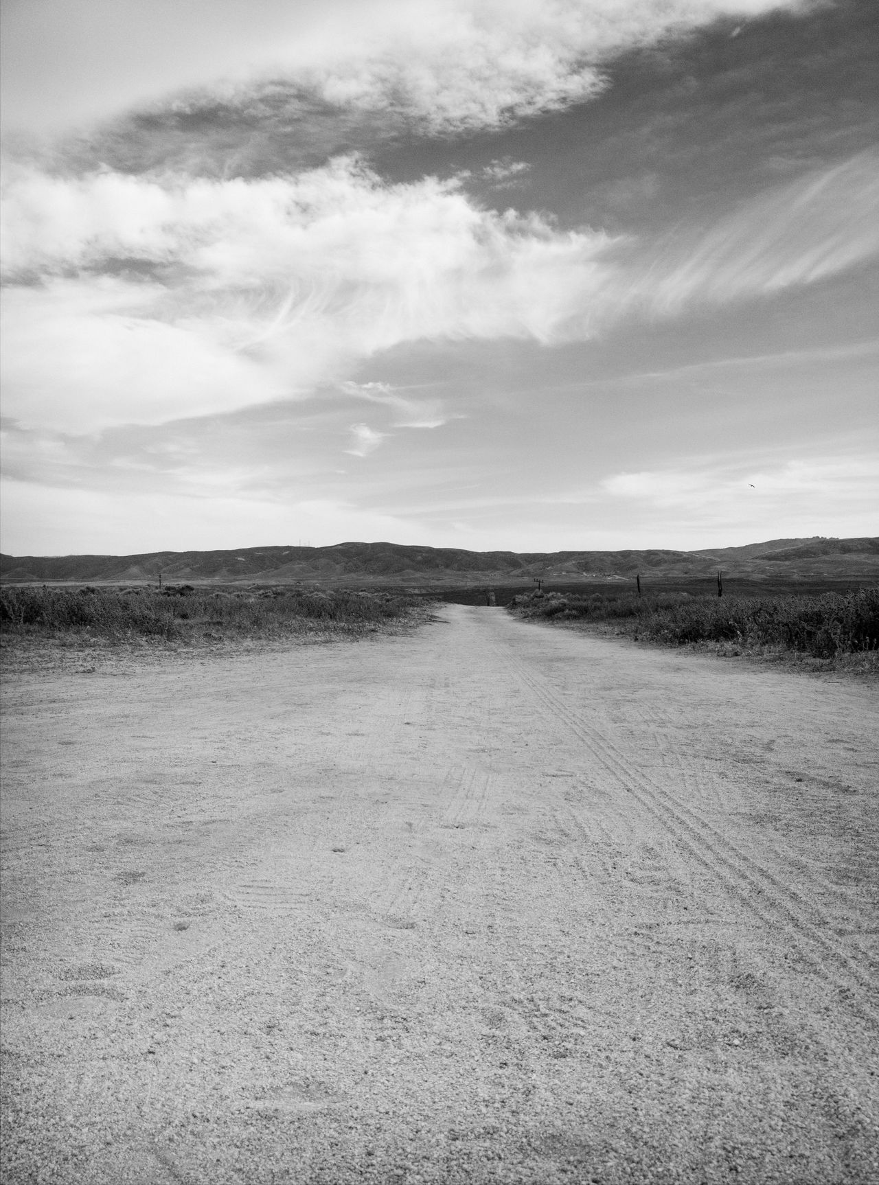 Outdoors Landscape Nature Sand Day No People Sky Beauty In Nature Desert Beauty Dirt Road
