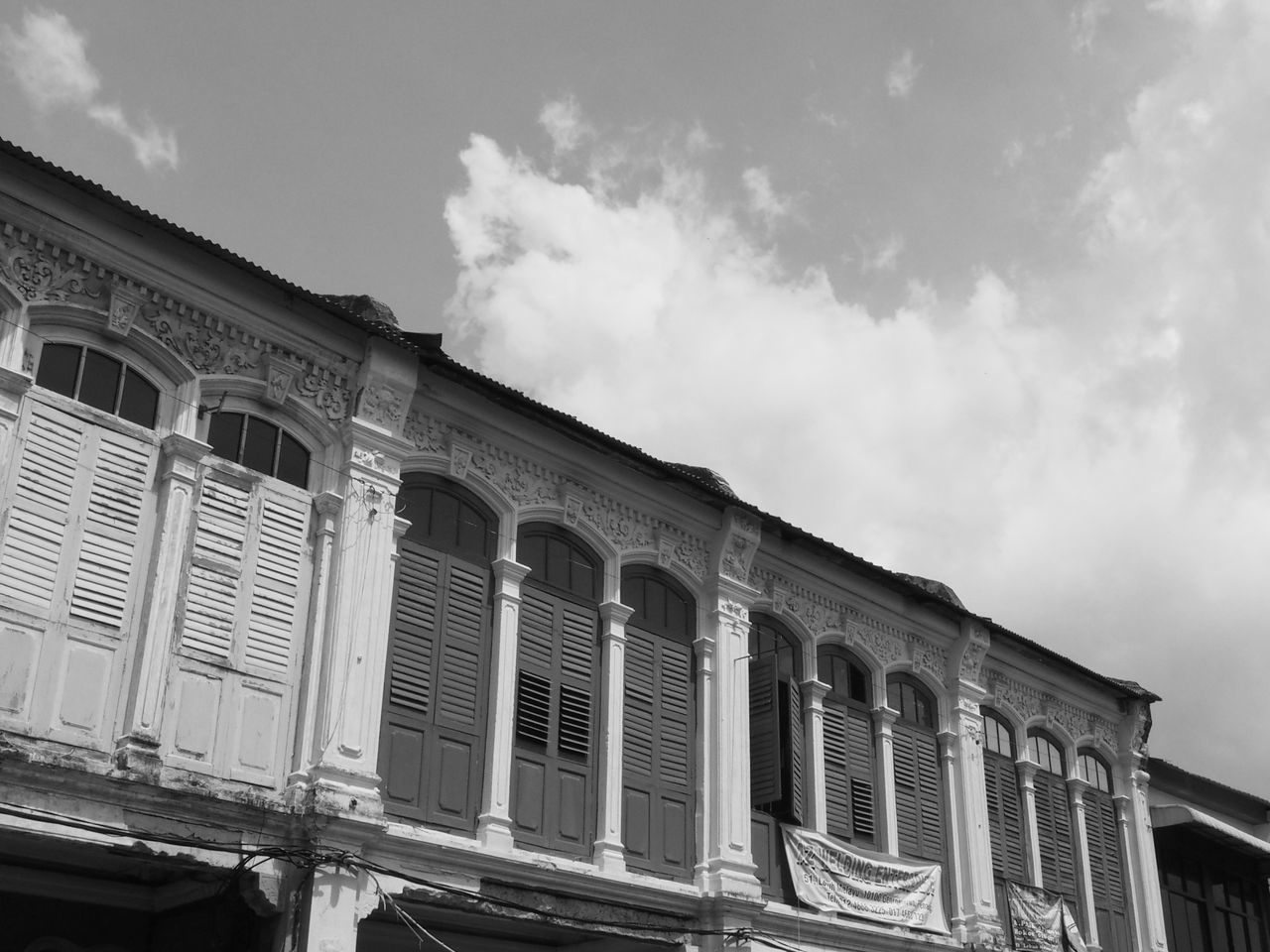 Architecture Building Exterior Built Structure Exterior Low Angle View Old Buildings Old Shop Outdoors Penang Malaysia Penang Old Building Shutter Therapy Street Photography Streetphotography