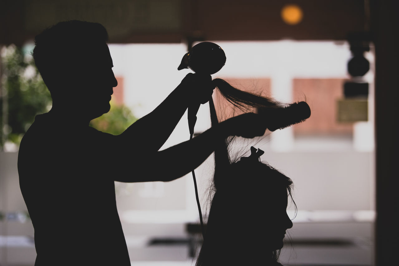 Bride Bride Photography Bride To Be Collection Creativity Focus On Foreground Getting Ready Hair Style Hairdresser Hairdressing Indoors  Novia Outline Person Side View Silhouette Stylist Wedding Wedding Day Wedding Photography