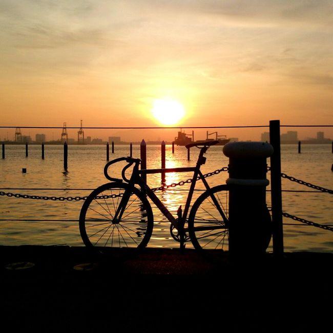 Sunrise Silhouette Landscape