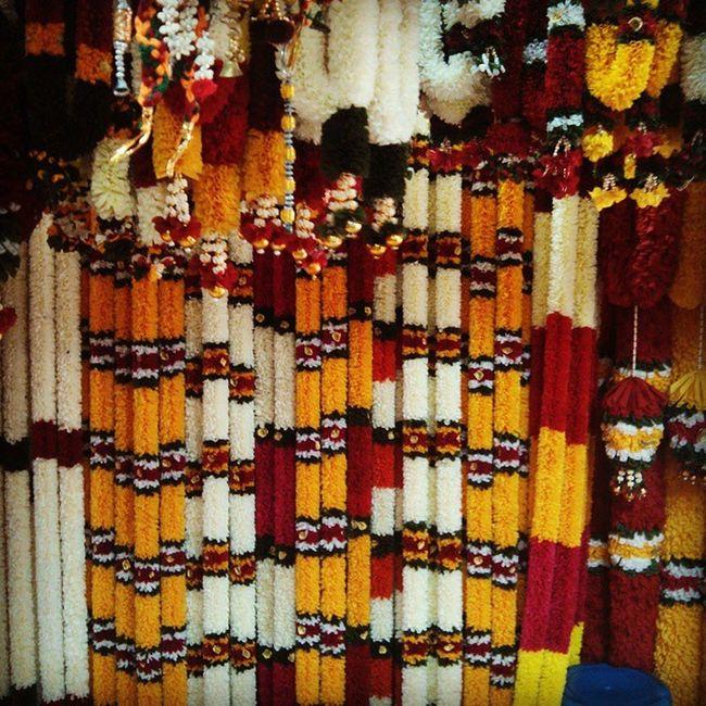 Bright and colorful, Little India, Bangkok, Phahurat Road LittleIndia Ouradventures Bangkok Leoanddasha