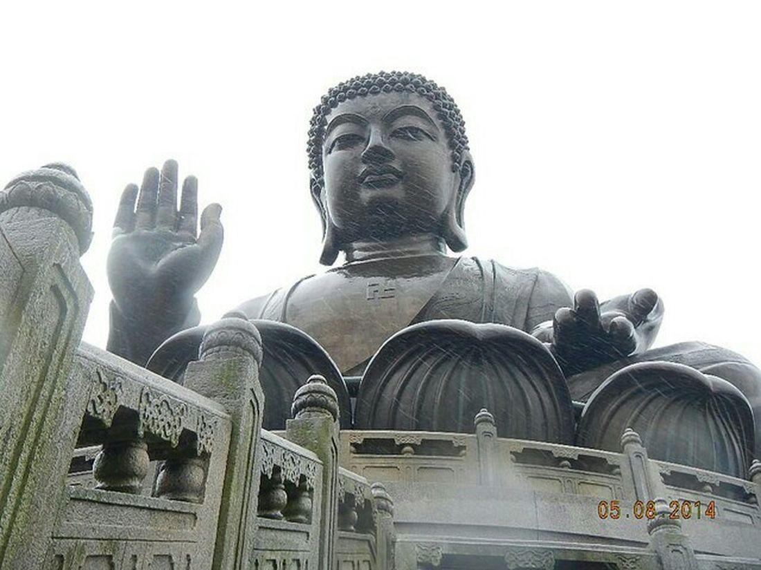Tian Tan Buddha the Big Buddha at Lantau Island in Hong Kong Asian Culture