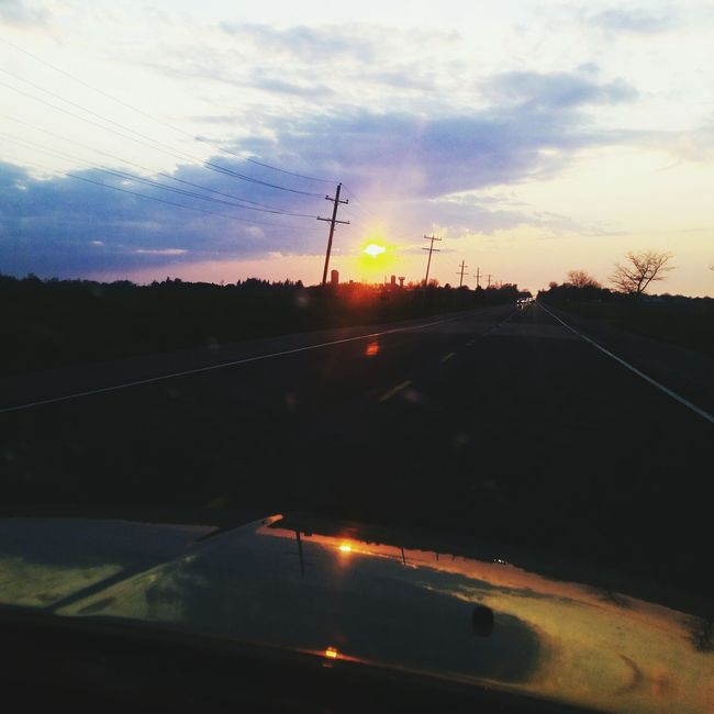 The best part of the long drive home. Enjoying Life First Eyeem Photo