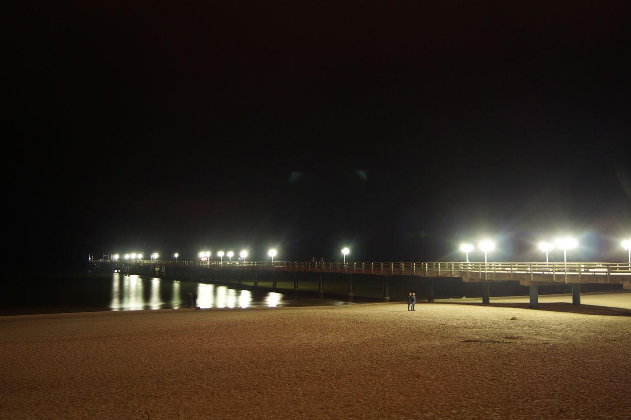 Architecture Binz Langzeitaufnahme Langzeitbelichtung Night Ostsee Ostseebad Binz Rügen Rügen Lovers Rügenliebhaber Seebrücke