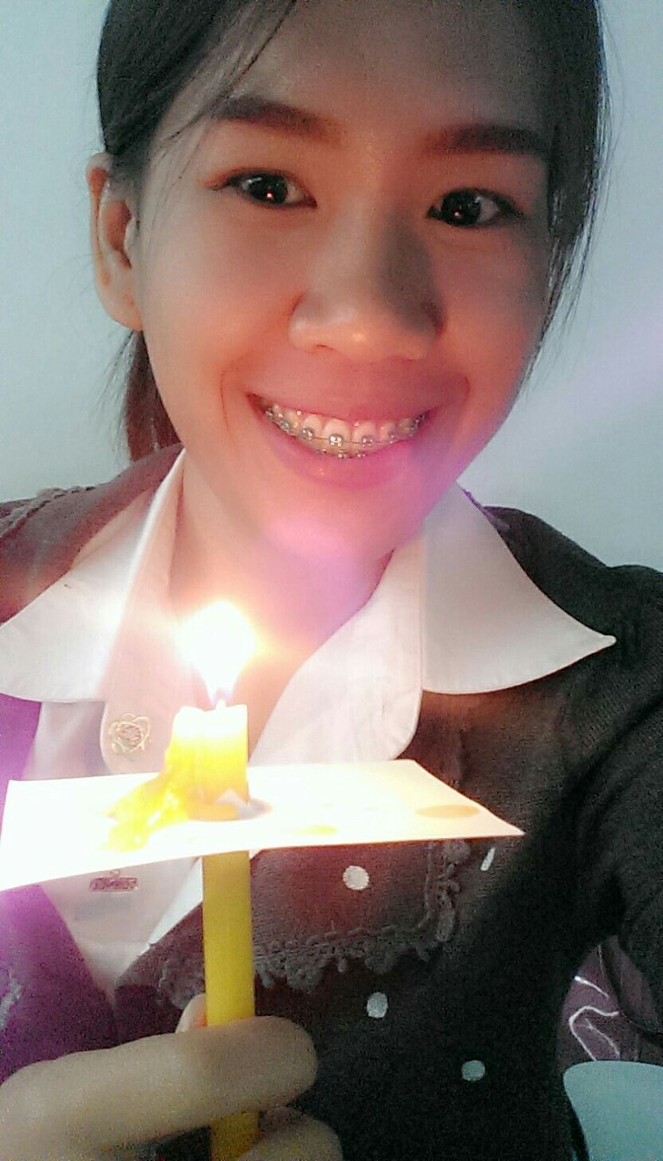 Light your candle englishforscience :)