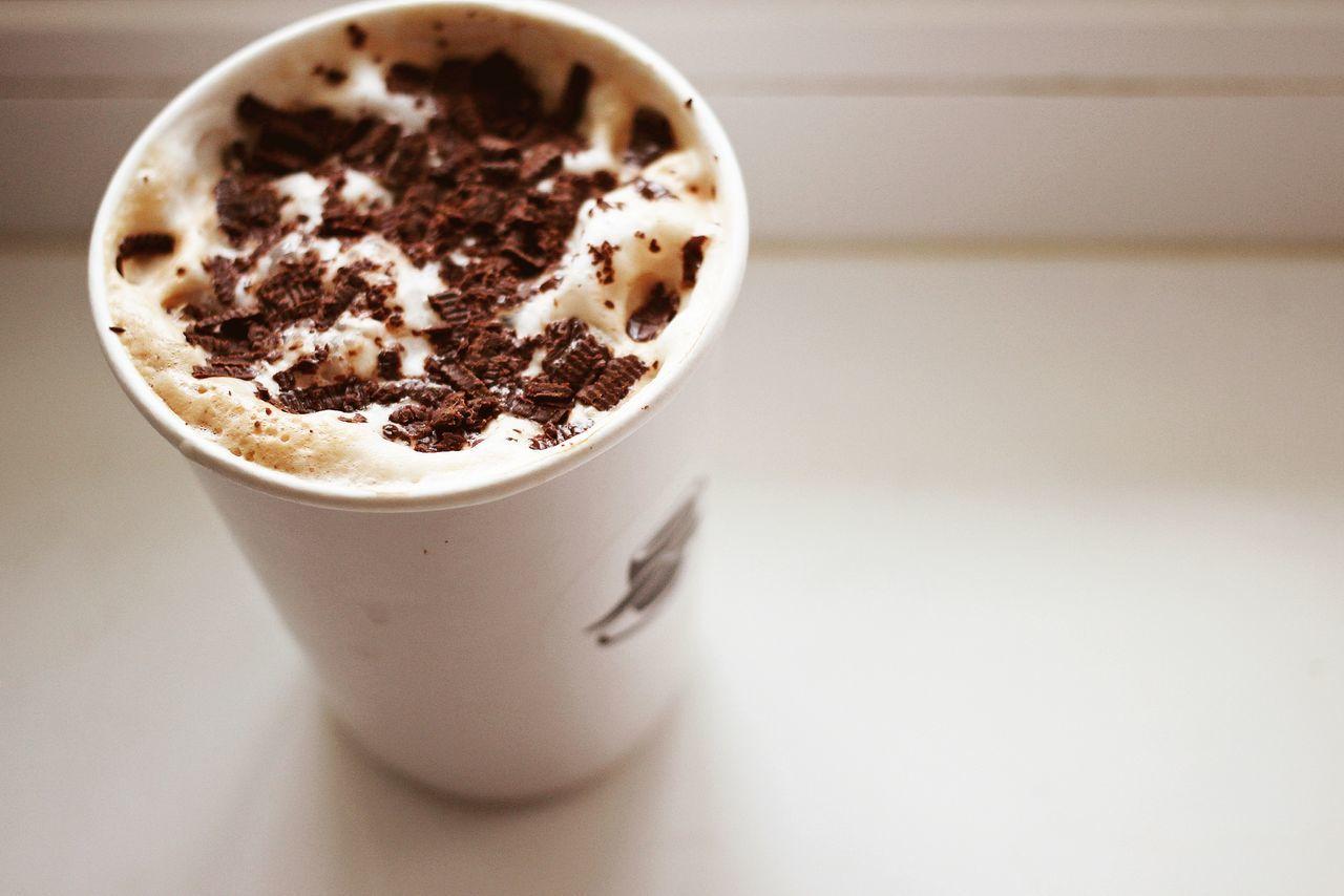 Crumb Glass White Beige Brown Latte Coffee Milk Cinnamon кофе стакан латте молоко белый бежевый Коричневый корица шоколад крошка Chocolate photo
