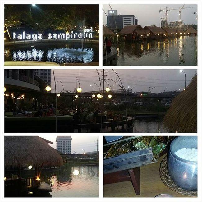 TALAGA Sampireun Puri Telaga Lake Talagasampireun Sunda Sundanese Restaurant Foodlover Sofialee21