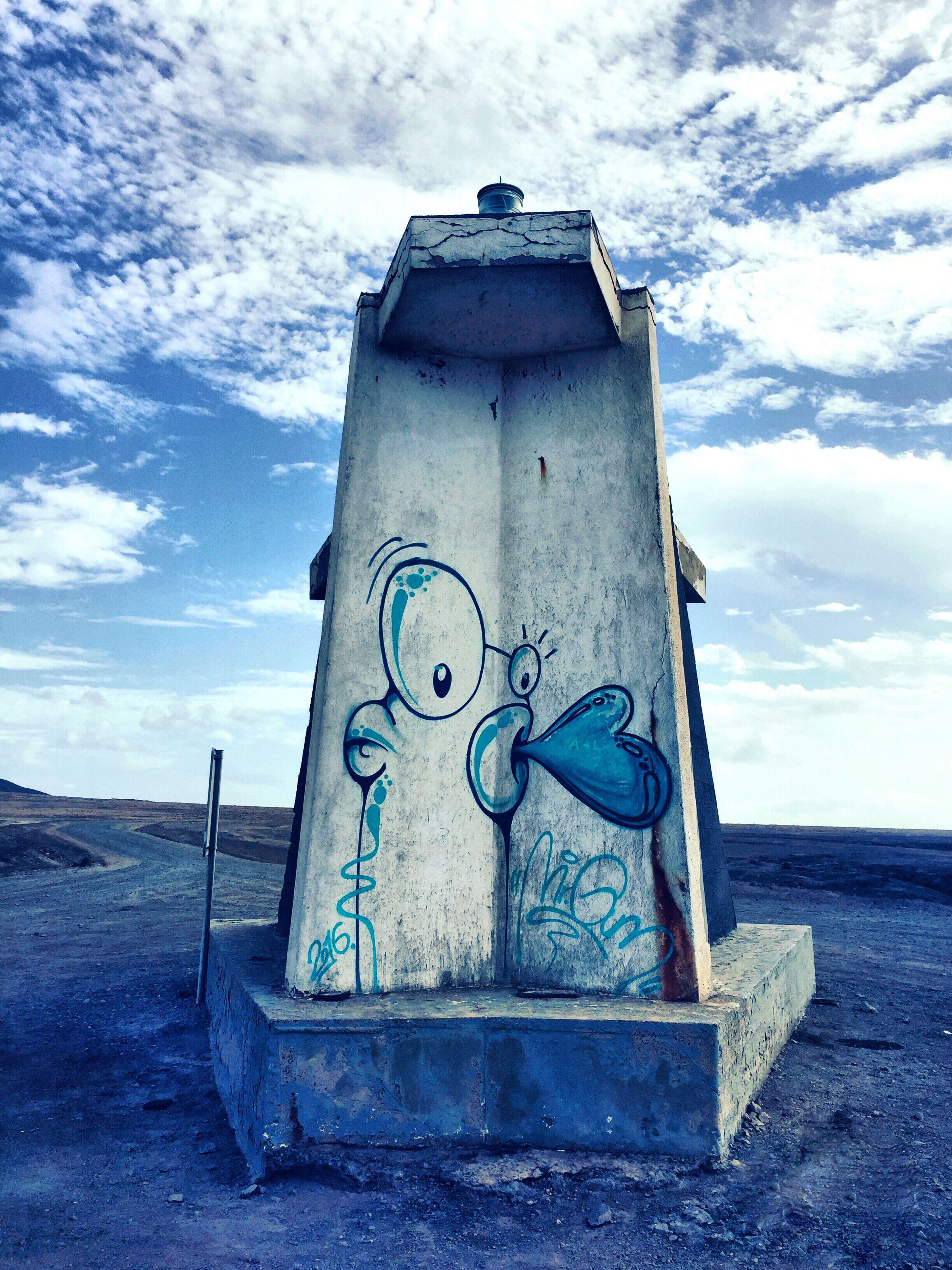 Fuerteventura Fuerte Fuerteventuraexperience Monument South South Of Fuerte Wüste  Canyons Canyon Graffiti Stone Change Your Perspective Blue Blue Sky Bluesky Cloudy