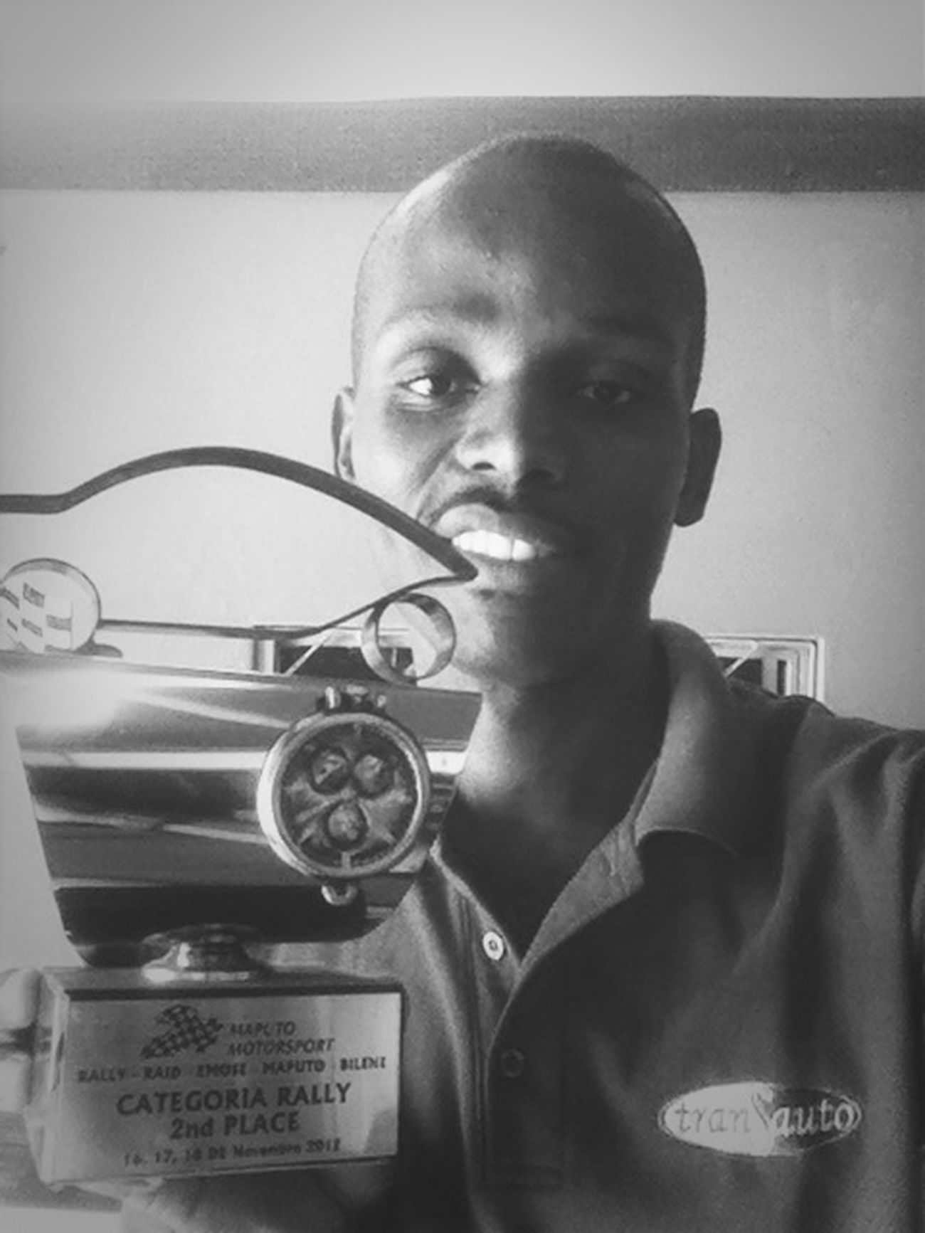 My prize...