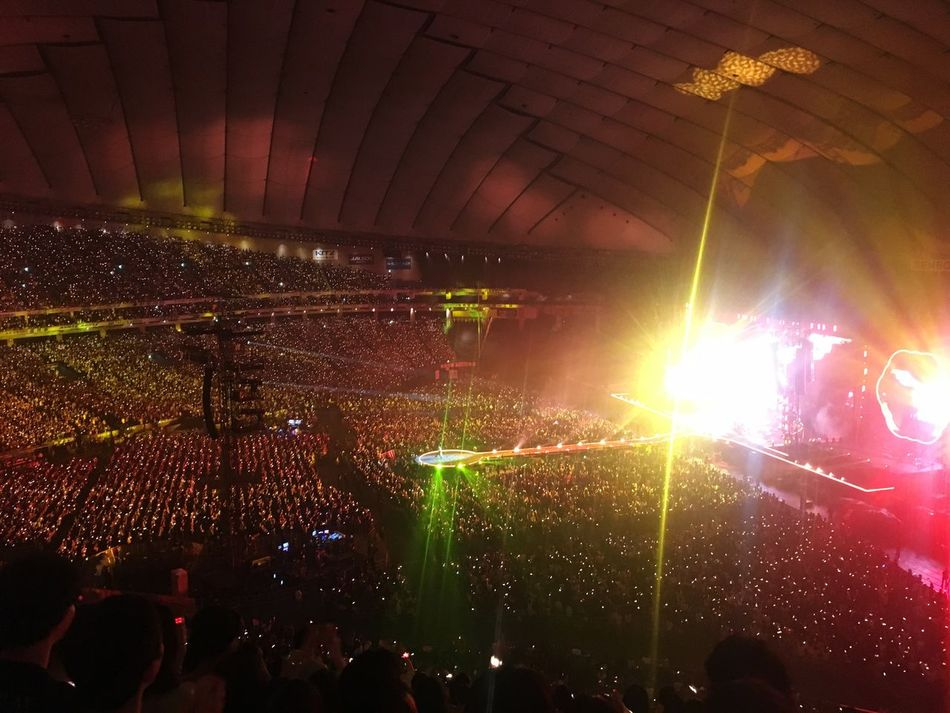 AHFODtour Coldplay Music Photography  Coldplay Concert  COLDPLAY ♥ (null)Stage Light Live Music Music Tokyo,Japan