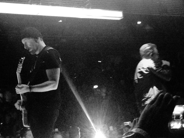 U2-Innocence + Experience Tour 2015 For The Love Of Music Black And White Ericsson Globe