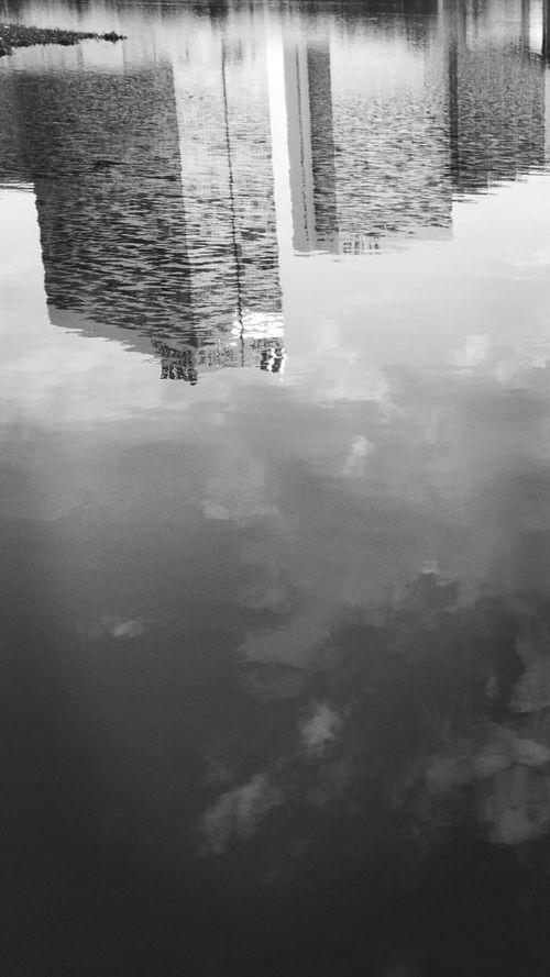 Reflection Water Lake Inlay Lake Hidden Places Taywai Aye Chan Myanmar View Yangon Monochrome Photography Inyalakeyangon Black And White