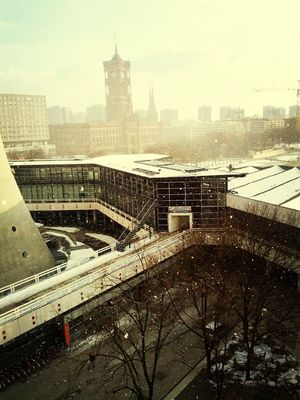 Sun & Snowflakes in Berlin by Marc Breidbach