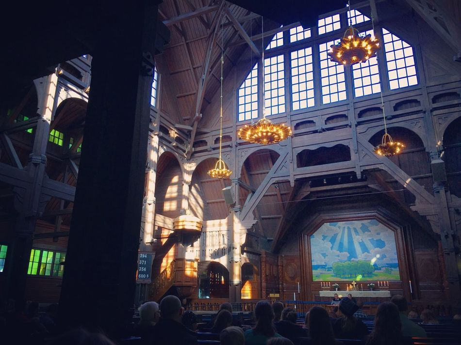 Kiruna Church Church Sweden Kiruna ©Liselottewajstedt