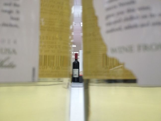 Shop Shopping ♡ Shopping Mall Wine In Between Between Alcool  Alcohol Alcholic Beverage Yellow Transparent Transparency