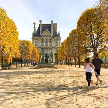 Autumn in Paris, Bonjour EyeEm Best Shots Louvre Paris Historical Sights Being A Tourist Walking Around Streetphoto_color Autumn Autumn Colors