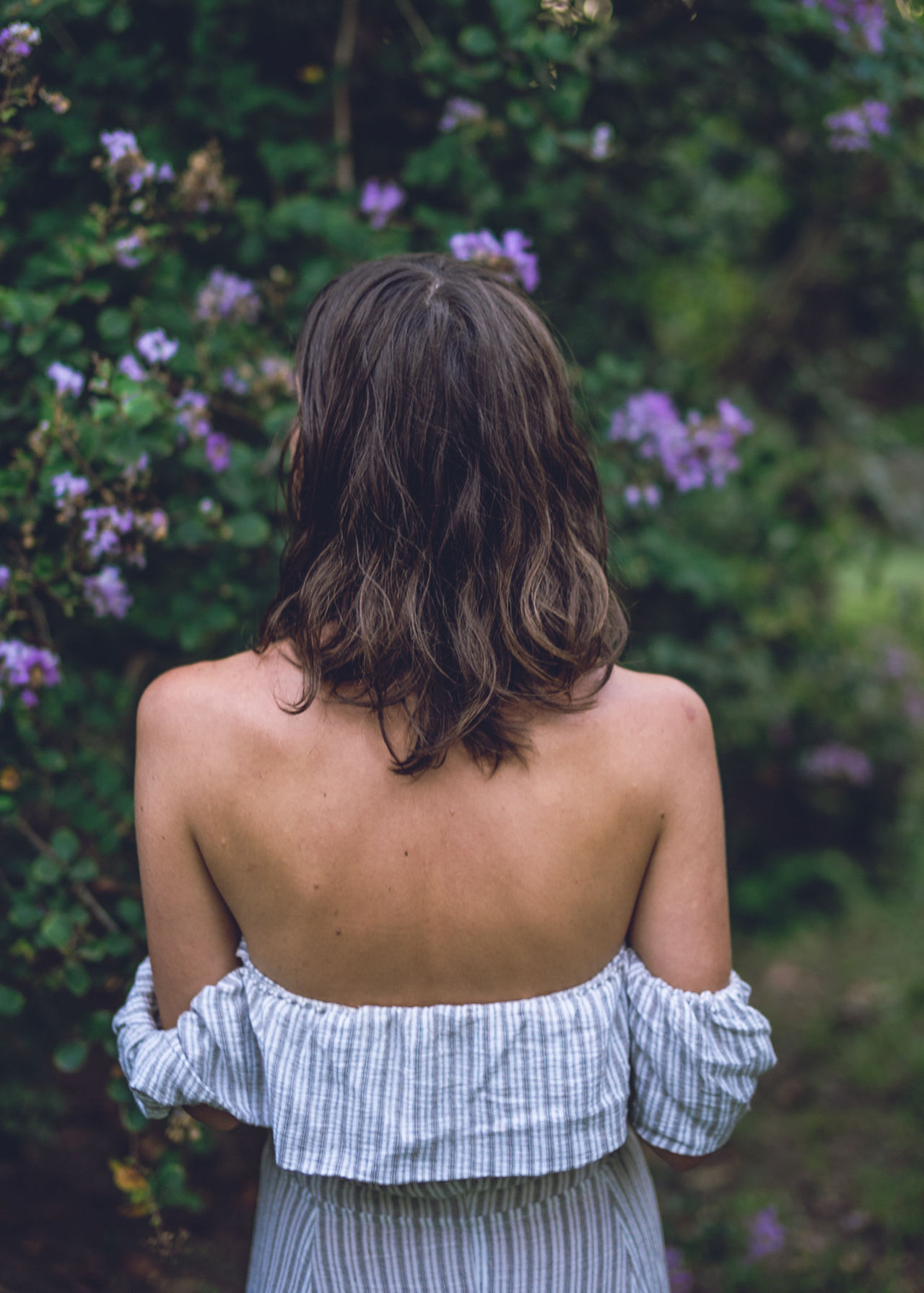 Back Beautiful Nature Beautiful Woman Beauty In Nature Daydreaming Flowers Flowers_collection Gardens Girl Holiday Human Back Love Lovely Girl Purple Travel Travel Photography Young Young Adult Young Women Youth