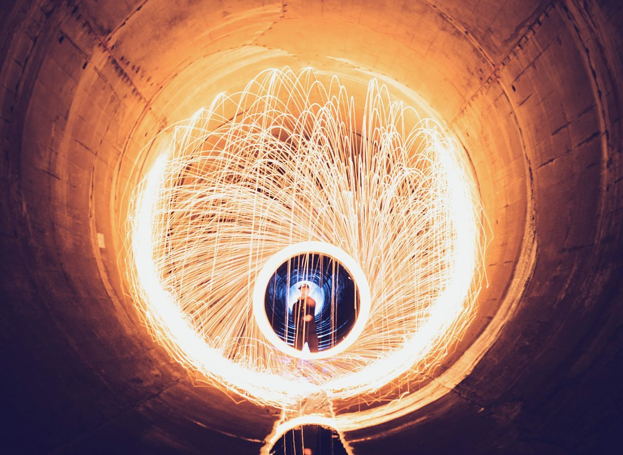 This boy is on fireShowcase: February Steelwoolphotography Steelwool Catchwater Tunnel Hong Kong Hong Kong Boy Light And Shadow Light Painting Light Photography Very Cool Sonyalpha Sonya7II
