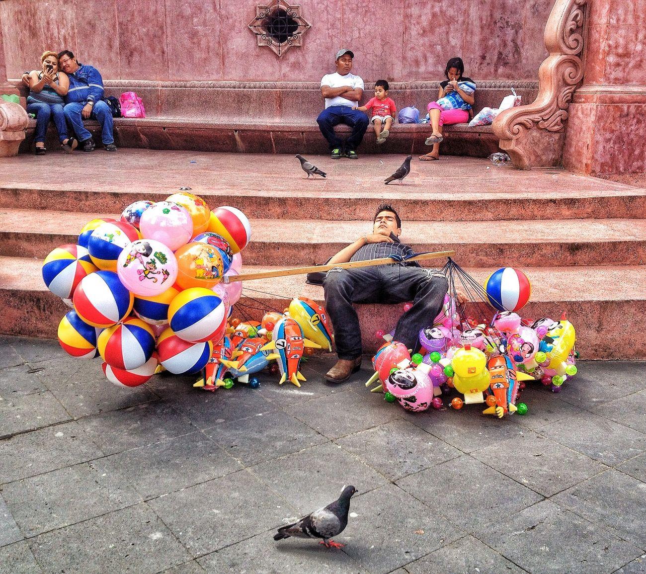 Ballons Street Photography Globero