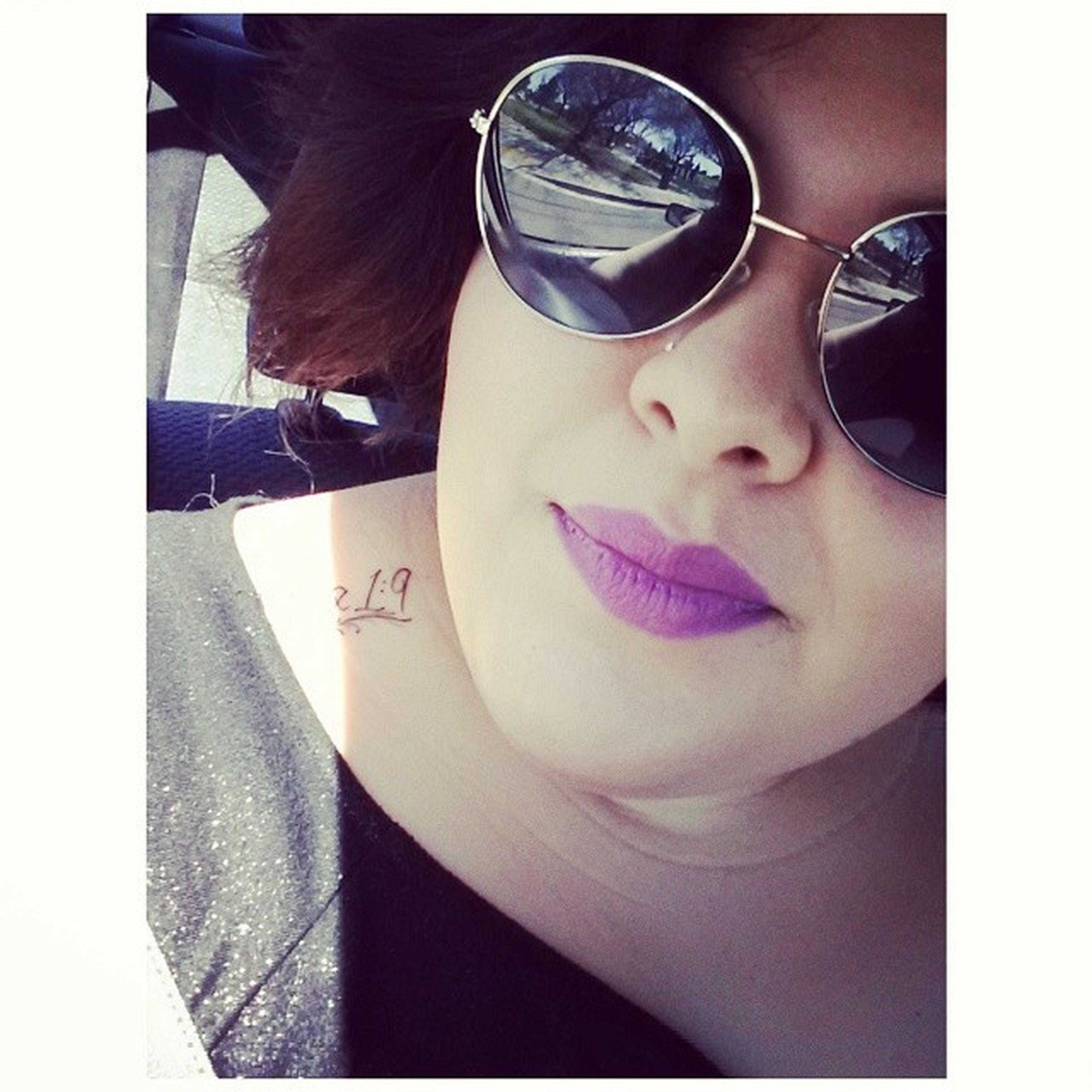 Purpleiips Occcosmetics . Summertimesadness Iwokeuplikethis