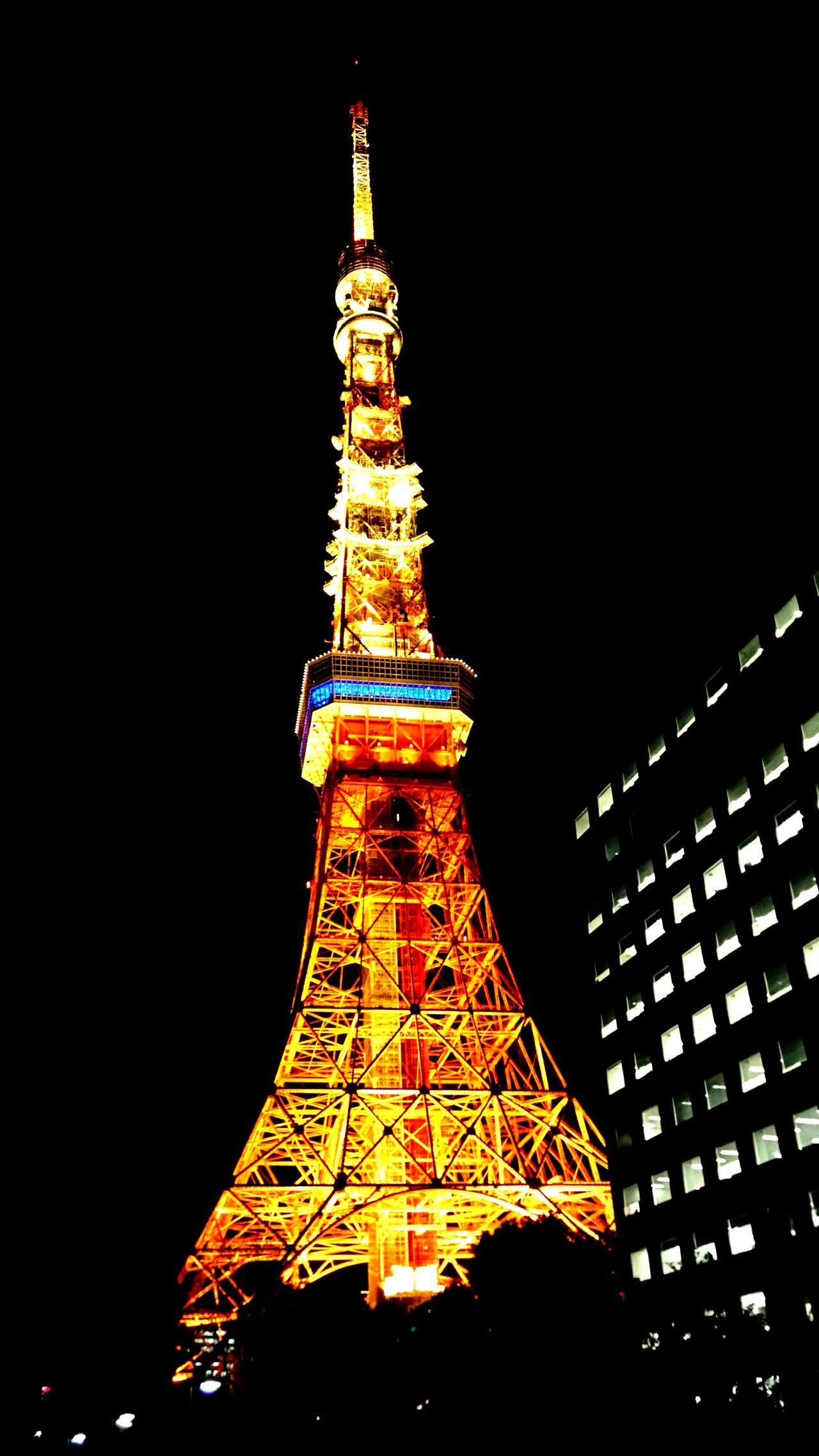 東京タワー Tokyo Tower 夜景 Night View
