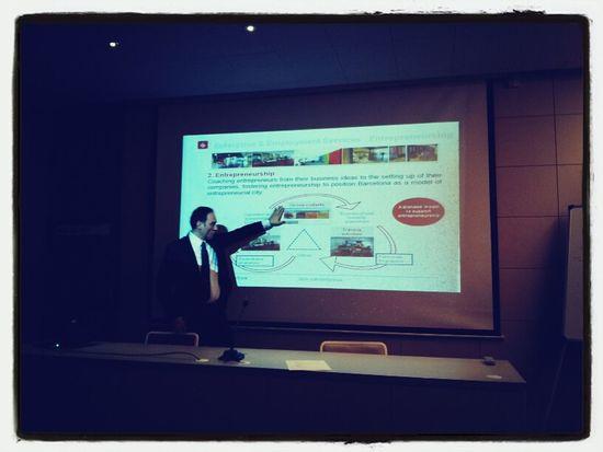 The Barcelona Activa entrepreneurship services. #poap