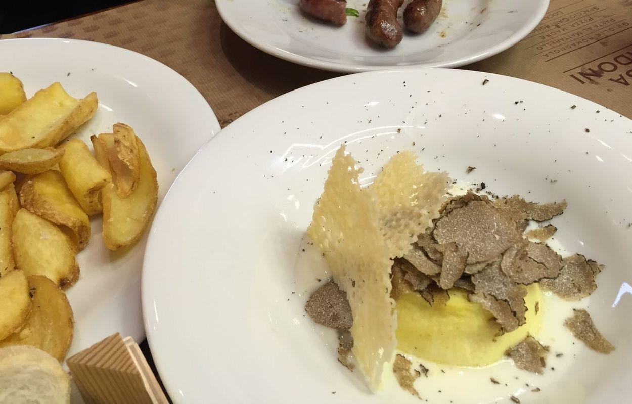 Delizie di Romagna Tartufo Ciboitaliano Cucina Italiana Tavola Piatto Romagna Delizie Ristorante Romagnolo Ristorante Italiano