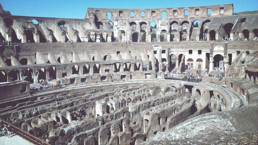 Roma Italien Italy Kolosseum