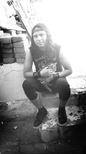 Ugly Me Cat♡ Motörhead Crustpunk