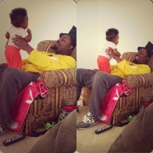 Saleh Wit Her Papa #MyDaddy ❤