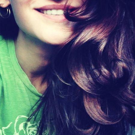 Smile Hair Good Mood Let Your Hair Down