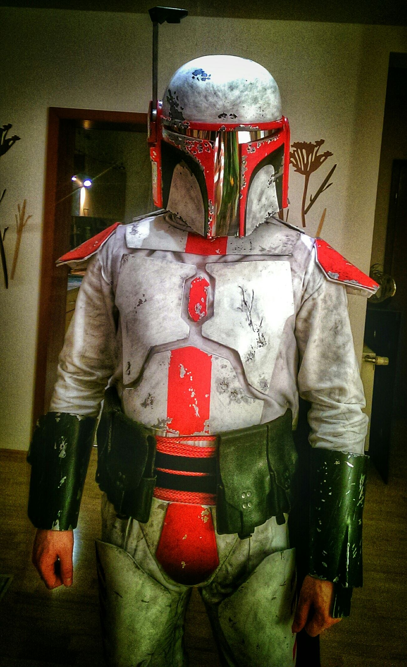 I am ready for trooping. Mandalorian Cosplay Costume Mandomercs Starwars That's Me Taking Photos