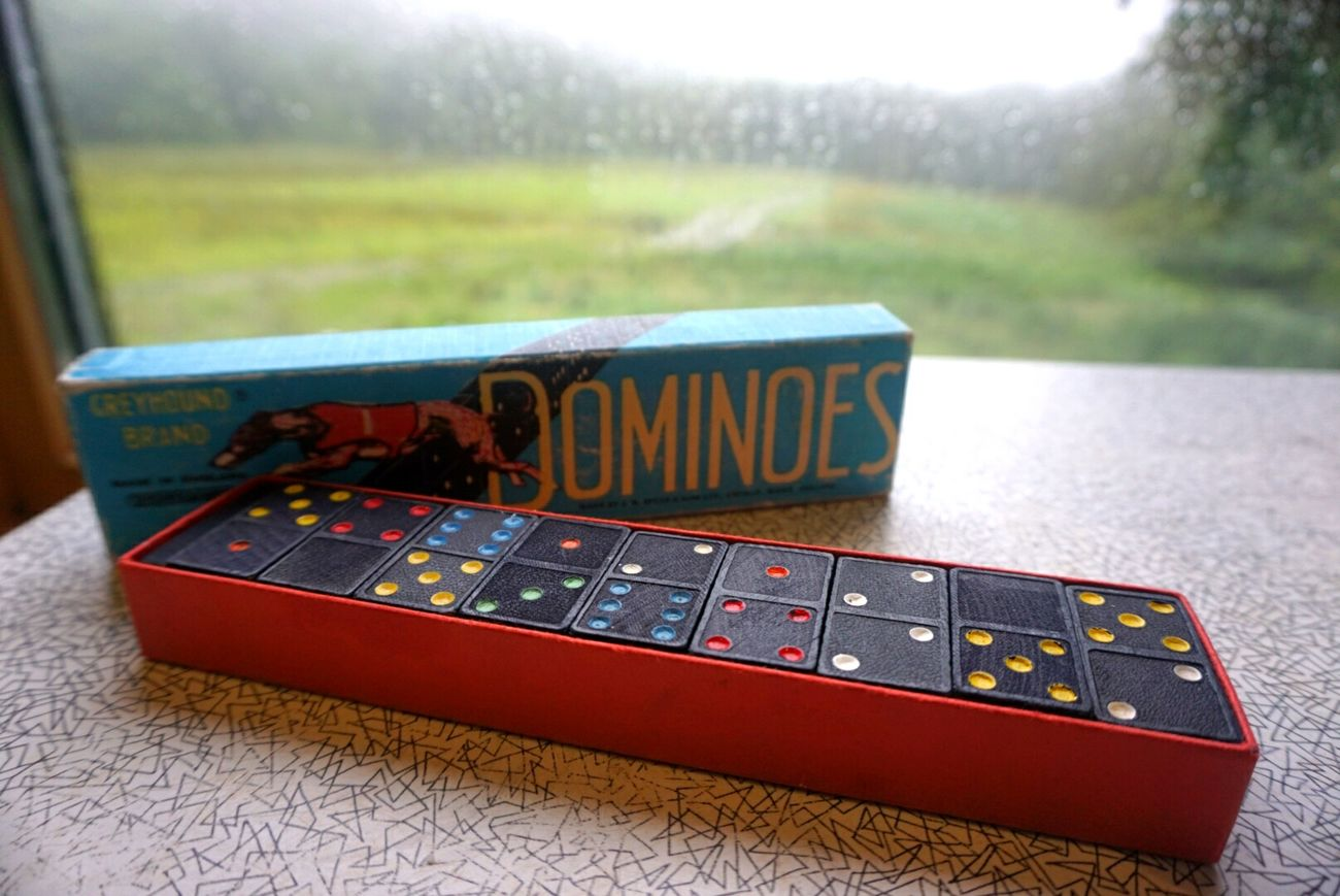 Dominoes Game Dominoes Games Childhood Childhood Memories Memories Cosy Glamping Powys Cabancrwn Wales