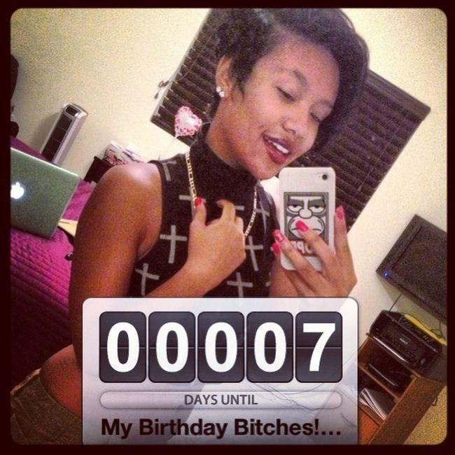 My Birthday HOE!