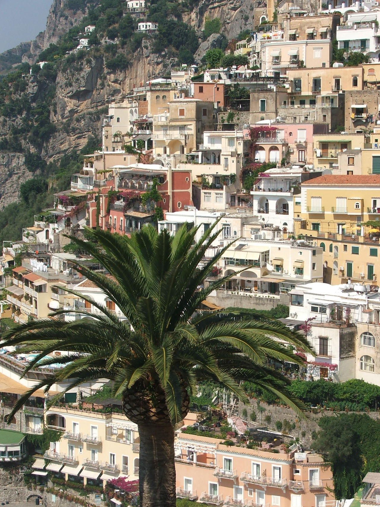 Positano Mountain Travel, Rocky, Bright, Sunshine, Nature Naples, Italy Island View  Island View  Green Yellow Boat Travel Destinations Coast Water Beauty In Nature Cultures